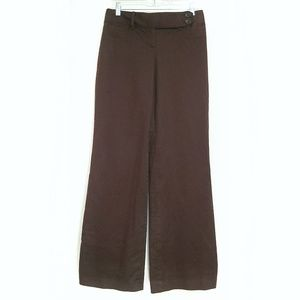 EUC Solid Brown LOFT Ann Dress Pants - 2